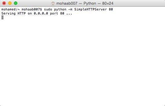 python-http-server